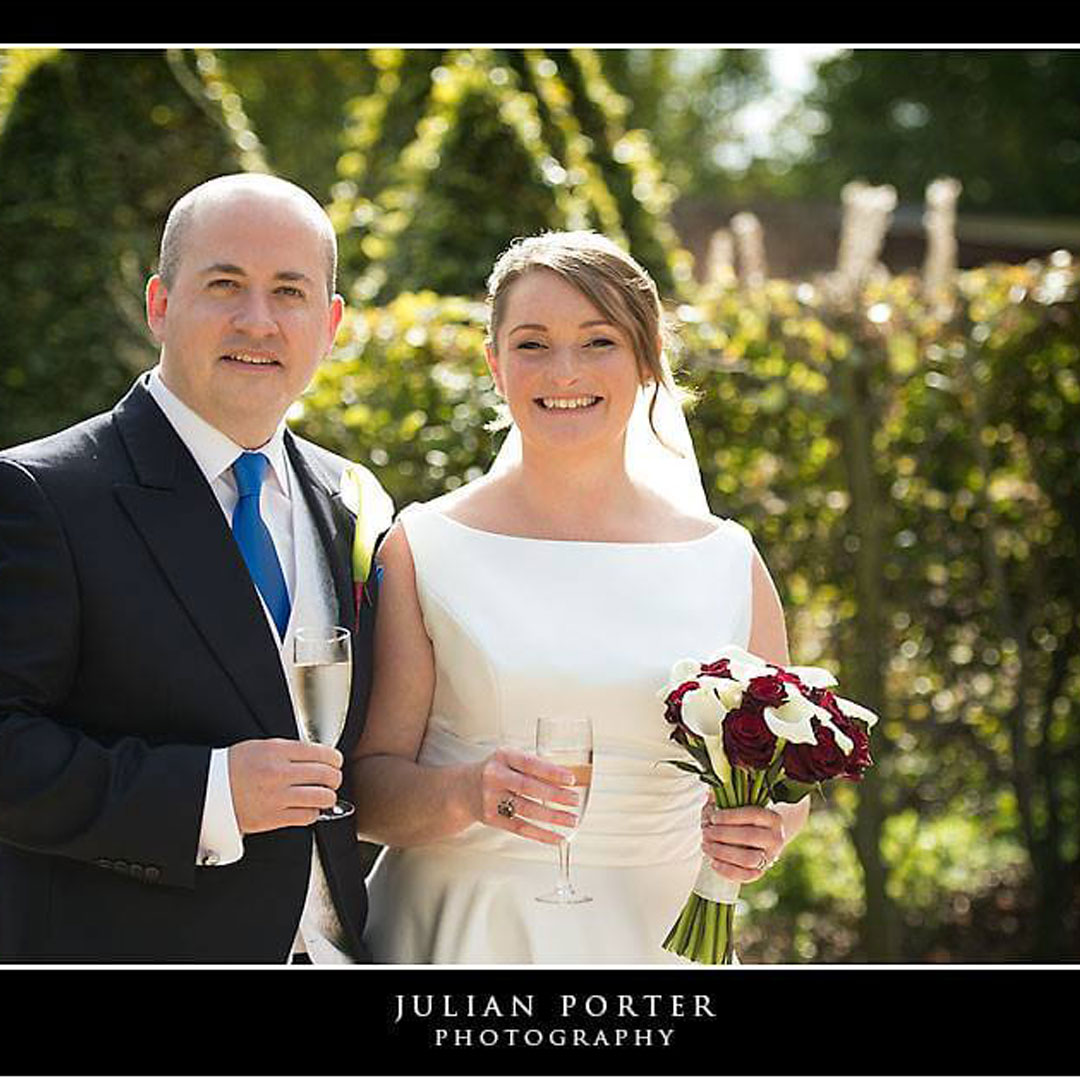 Gina & Nathan, The Barn, Bury Court Wedding Review