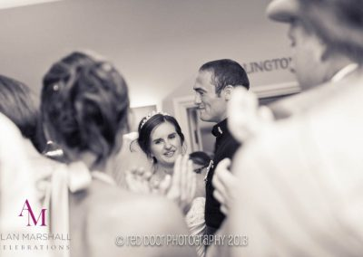 Andrew & Charlotte's first dance at Warbrook House