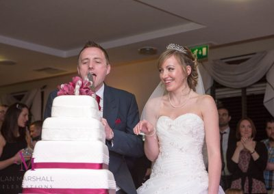 David & Stephanie's Cake Cut Highfield Park
