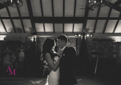 Lauren and Liam First dance at the Manor House Hotel, Castle Combe