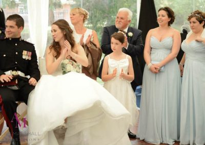 Lucy & Guys Fun Grand Entrances at Warbrook House
