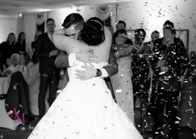 Philip & Roxanne first dance Highfield Park