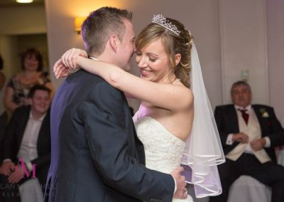 Stephanie & David First Dance Highfield Park