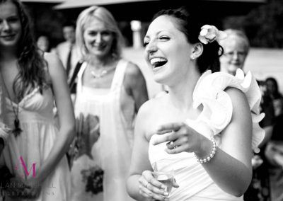 Tanya & Andy's wedding day full of laughter Warbrook House