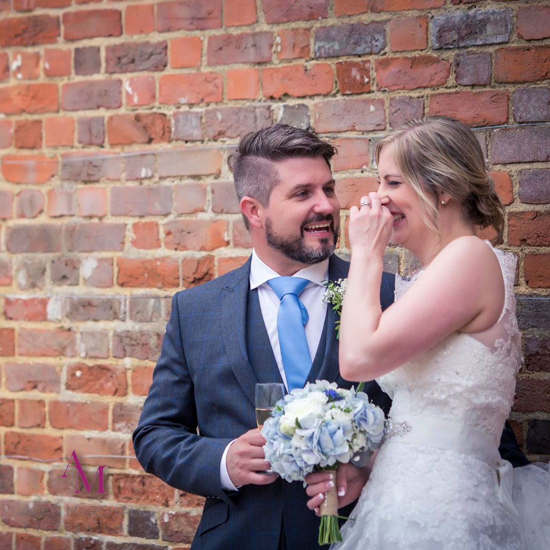 Jessica and Brent, Warbrook House Wedding Review