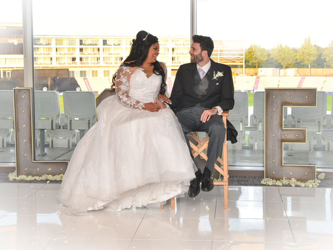 Bride and Groom Love Story by Alan Marshall
