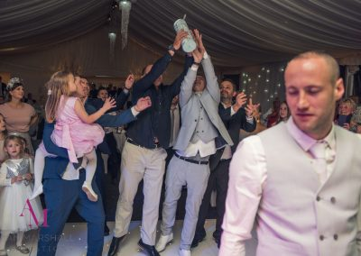 Bridegroom-Matt's-Jager-Toss-at-Warbrook-House