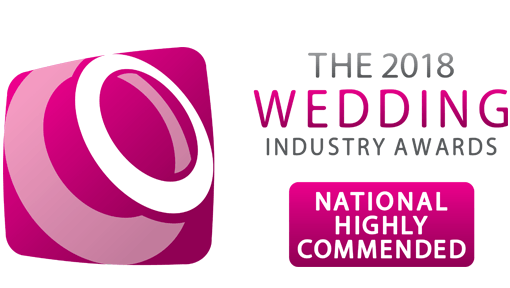 The Wedding Industry Awards National Highly Commended 2018